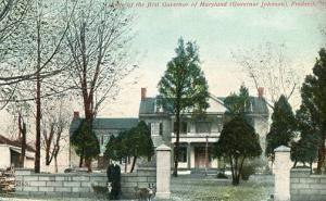 MD - Frederick. Governor Johnson's Home