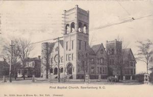 First Baptist Church, Spartanburg, South Carolina, PU-1908
