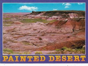 Arizona Painted Desert Vividly Colored Mesa