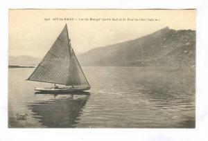 Sailboat, Lac Du Bourget (Partie Sud) Et La Dent Du Chal (1472m.), Aix Les Ba...