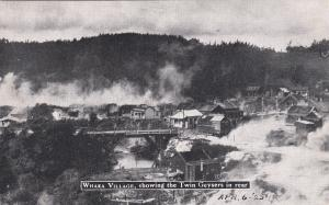 Whaka Village , Twin Geysers , New Zealand , 20-40s