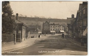 Surrey; Caterham Showing Station 4181 RP PPC 1918, Station Exterior