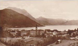 RP, Panorama, Kurstadt Gmunden Mit Traunstein, Salzburg, Austria, 1920-1940s