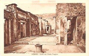 Pompei Casa del Poeta Tragico Italy Unused