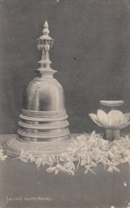 KANDY, Ceylon, 1900-10s; Sacred tooth