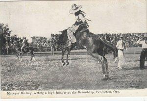 FEMALE RODEO ; PENDLETON , Oregon , 00-10s ; Marcese McKay