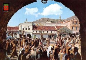 Morocco Xauen Bathing Place and Court, Campo del Bano y Tribunal