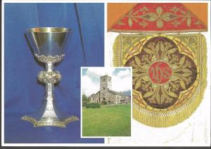 Postcard St Mary's Church KIRKBY LONSDALE Cumbria