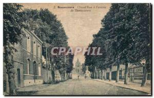 Old Postcard Bonsecours Street Grand has the entree