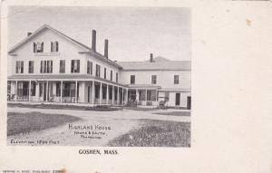 GOSHEN , Massachusetts, 00-10s ; Highland House