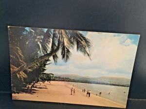 Postcard Luquillo Beach in Puerto Rico   Z8