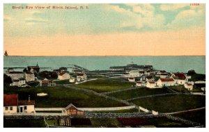 Rhode Island  Block Island Bird's eye View