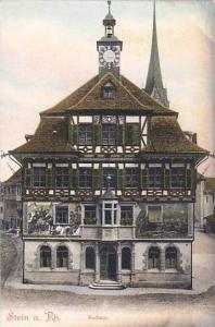 Rathaus, Stein A Rhein, Schaffhausen, Switzerland, 1900-1910s