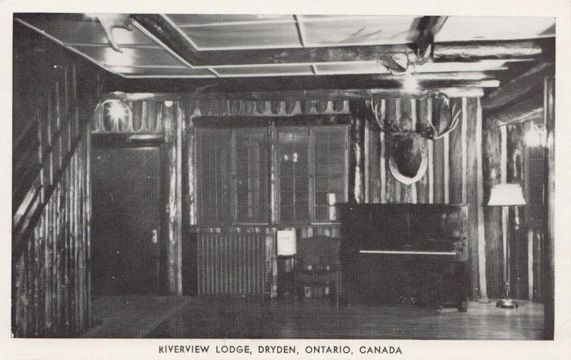DRYDEN, Ontario, Canada, 30-50s; Riverview Lodge
