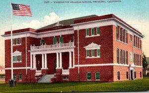 California Petaluma Washington Grammar School