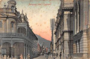 South Africa Cape Town Parliament street postcard