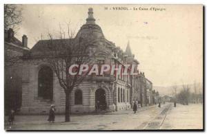Old Postcard Bank Caisse d & # 39Epargne Vesoul