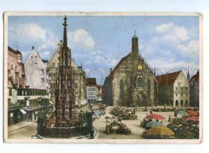 155589 GERMANY NURNBERG Adolf Hitlerplatz Vintage RPPC