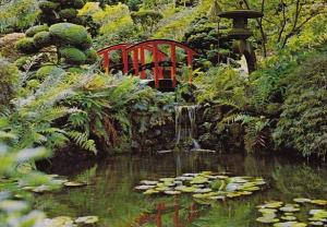 Canada The Butchart Gardens The Japanese Garden Victoria British Columbia