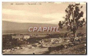 Old Postcard Baalbek View genarale