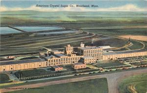 Moorhead Minnesota~American Sugar beet Co~Largest Under One Roof~1948 Postcard