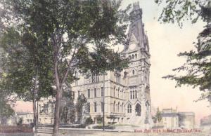 Exterior, West Side High School,Portland,Oregon,PU-1907