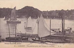 Lormont , France , 00-10s : Vue generale prise sur le fleuve la Garonne