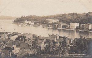 RP; CONSTANTINOPLE, Turkey, 1910s; Baie de Therapia (Bosphore)