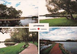 Canada Alberta Lethbridge Multi View