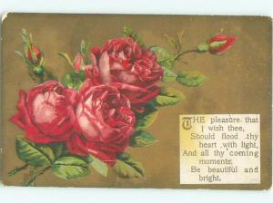 Divided-Back BEAUTIFUL FLOWERS SCENE Great Postcard AA2883