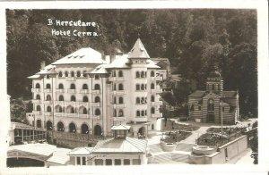 CI00264 romania caras severin baile herculane spa cerna hotel church 1940