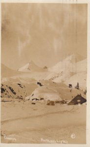 RP: Northern Lights (AURORA BOREALIS) , Fairbanks , Alaska , 1928