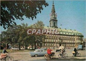 Modern Postcard Christiansborg Copenhagen Denmark with the Folketing (Parliem...