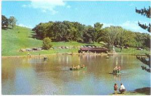 Schenk Lake Oglebay Park Wheeling West Virginia WV Chrome