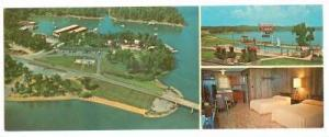 Sportsman's Lodge & Marina , Kentucky Lake, BENTON , Kentucky ,  40-60s : OVE...