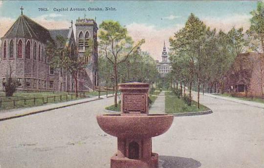 Nebraska Omaha Capitol Avenue