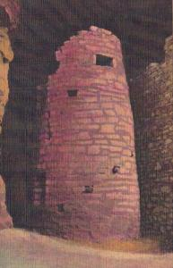 Colorado Manitou Springs Watch Tower In Ancient Ruins Of The Manitou Cliff Dw...