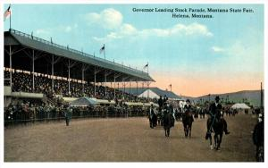 21514 MT Helena  Gov. Stock Parade  Montana State Fair