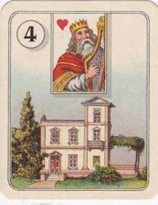 Carreras Vintage Cigarette Card Fortune Telling No 4  1926
