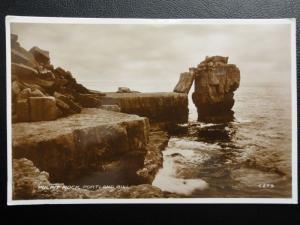 Dorset PORTLAND BILL Pulpit Rock c1930 RP Postcard