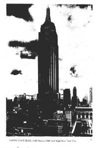 New York City Empire State Building Real Photo