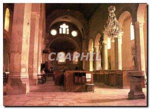 Postcard Moderne Saint chef isere nave Abbey