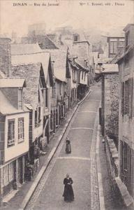 France Dinan Rue de Jerzual 1903