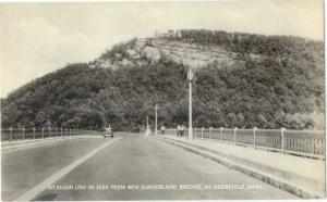 D/B Mt. Sugar Loaf from Sunderland Bridge So Deerfield MA