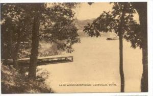 Lake Wononscopomuc , Lakeville , Connecticut, 20-40s