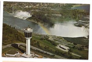 Canada Niagara Falls Seagrams Tower Chrome Postcard
