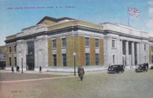 Canada New Brunswick St John New Union Railway Station