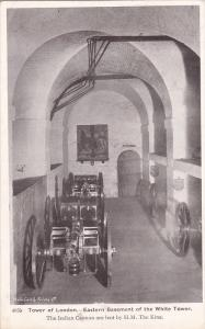 Tower of London, Eastern Basement of the White Tower, London, England, United...