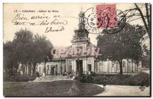 Cognac - Hotel de Ville - Old Postcard