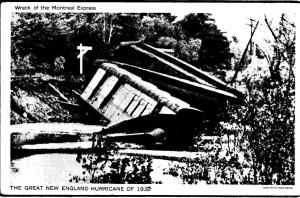 The Great New England Hurricane of 1938 - Wreck of the Montreal Express D1